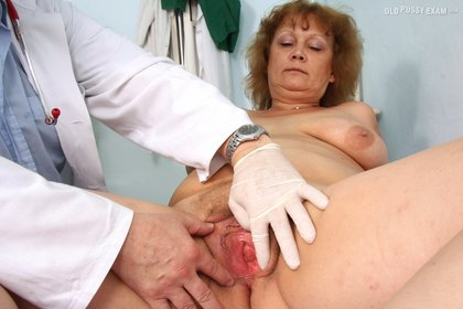 Busty BBW Examined in Hospital Room with Pulse and Pissing