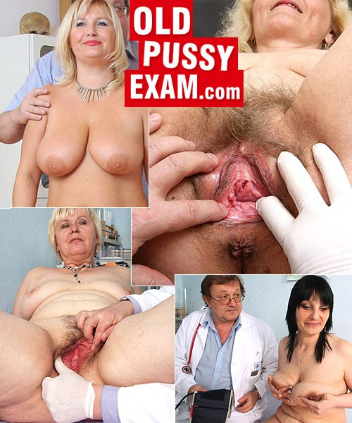 Hairy Milf Gyno Exam HD Video