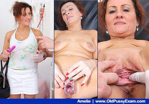 Mature wifey gyno drill