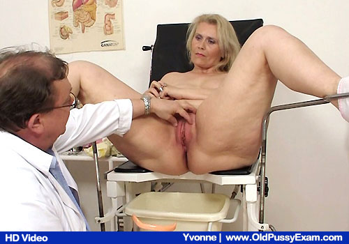 Take a look lovely Yvonne getting examined